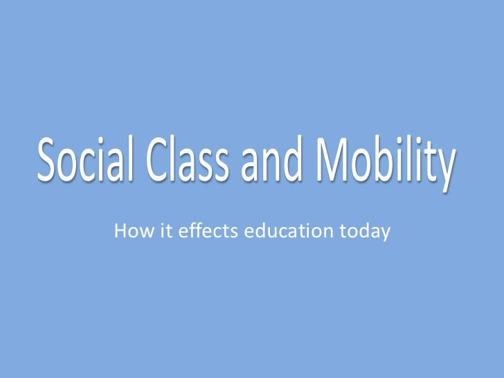 How it effects education today
