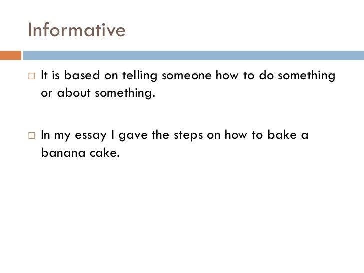 types of essays 4