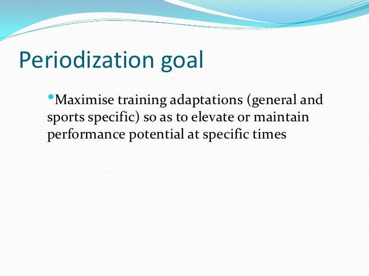 periodization 5th edition theory and methodology of training pdf