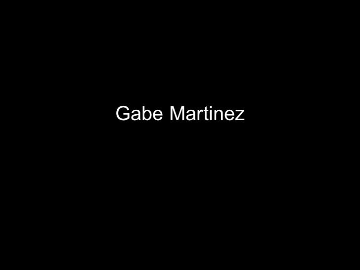 Gabe Martinez