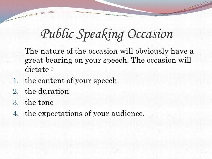 Speech Structure
