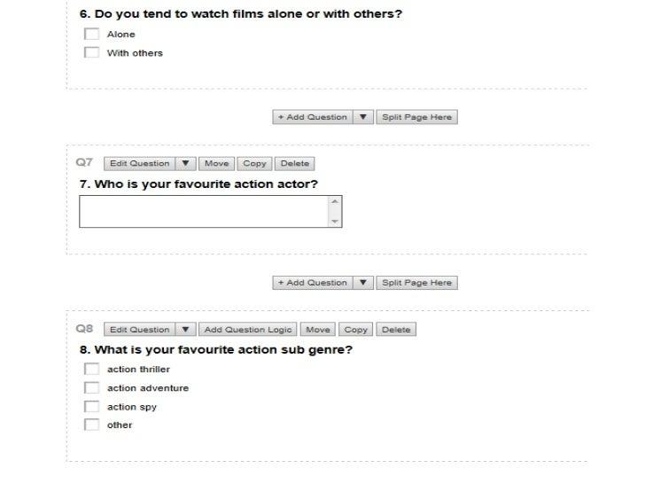 Target Audience: Survey