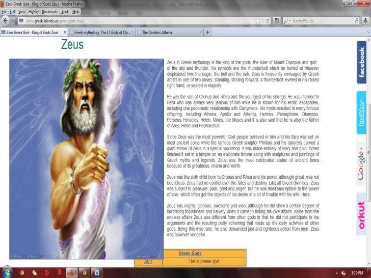 printscreen of gods en godesses