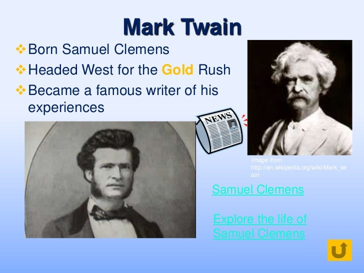 biography of mark twain ppt to pdf