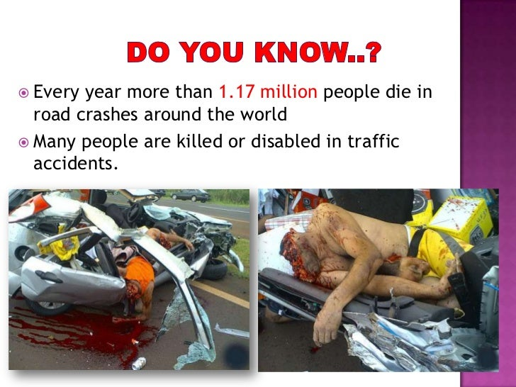 How Many Are Killed By Car Crashes
