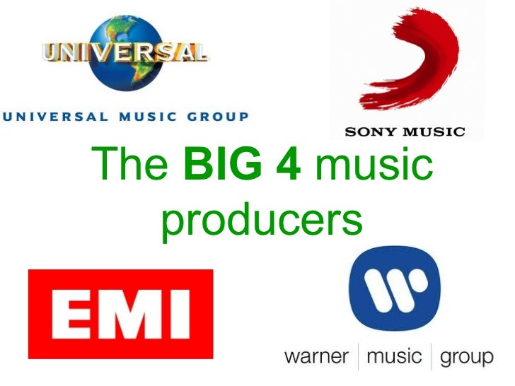 The  BIG 4  music producers