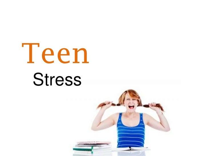 For Teen Stress Management 72