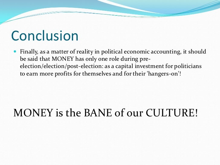 Does Money Give Power? Essay Sample