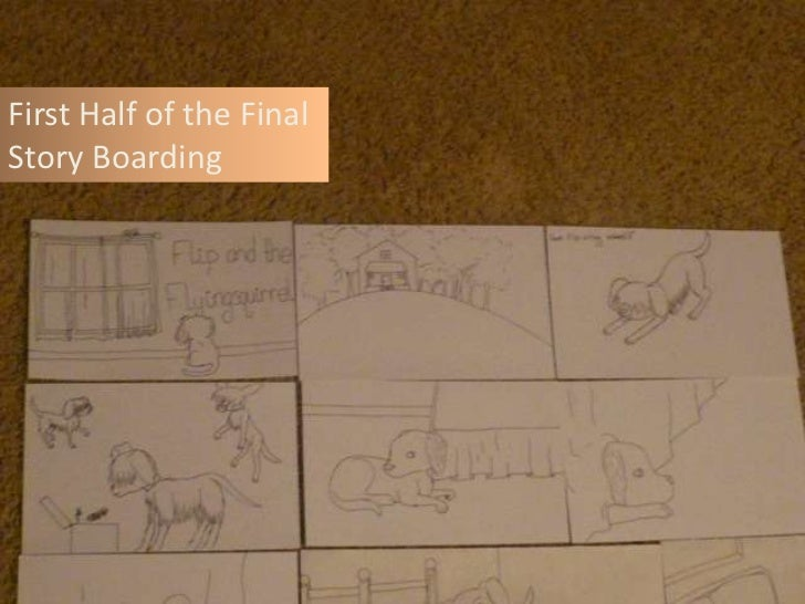 First Half of the FinalStory Boarding