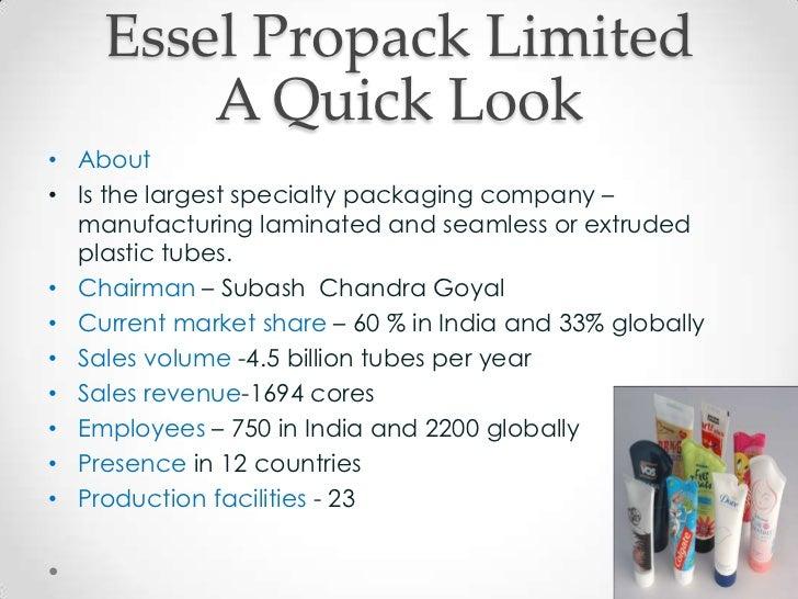 Internationalization Strategies | Suzuki and Essel Propack