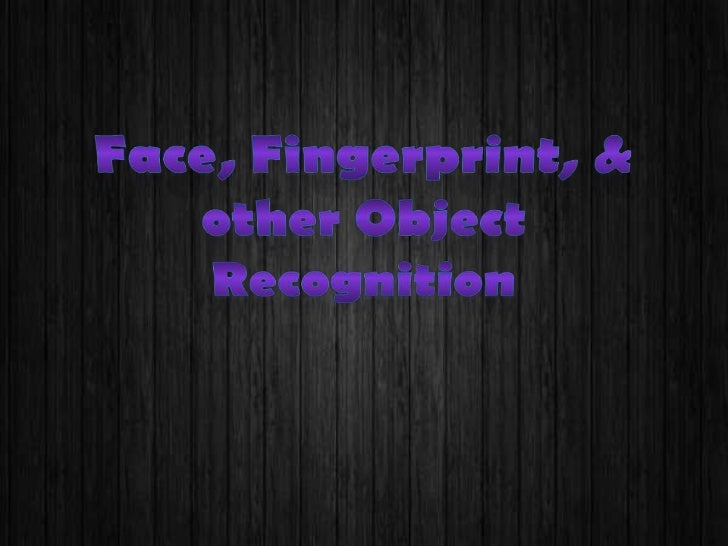 Object recognition in computer vision is the task of finding a given object in animage or video sequence. Humans recognize...