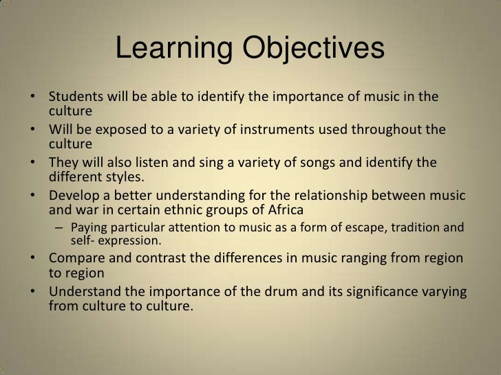 The Role of Music in Human Culture