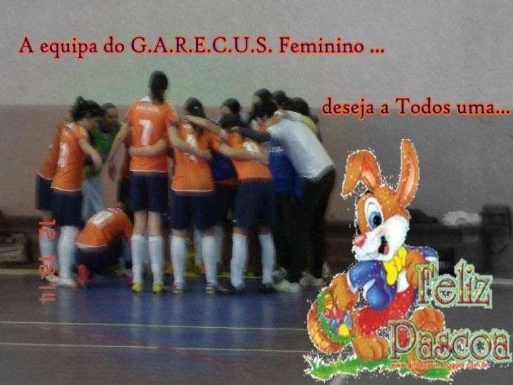 Garecus reforça liderança à 10ªJornada ao vencer em casa o G. D.      Carreirense por 10-2.