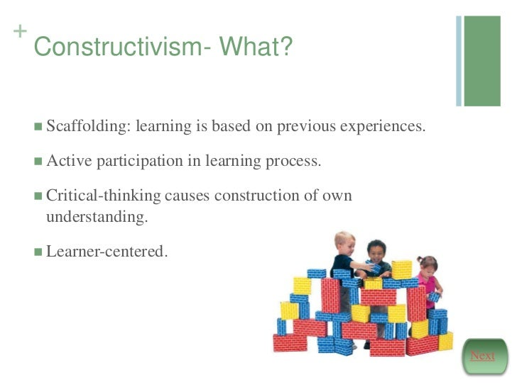 constructivism theory in education