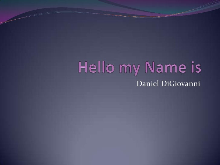 Daniel DiGiovanni