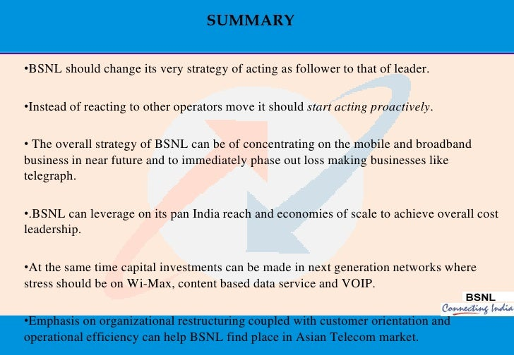 marketing strategy of bsnl Airtel vs vodafone marketing strategy print reference this  vodafone and bsnl who already have an established consumer base ,it is about enter in to areas in the.