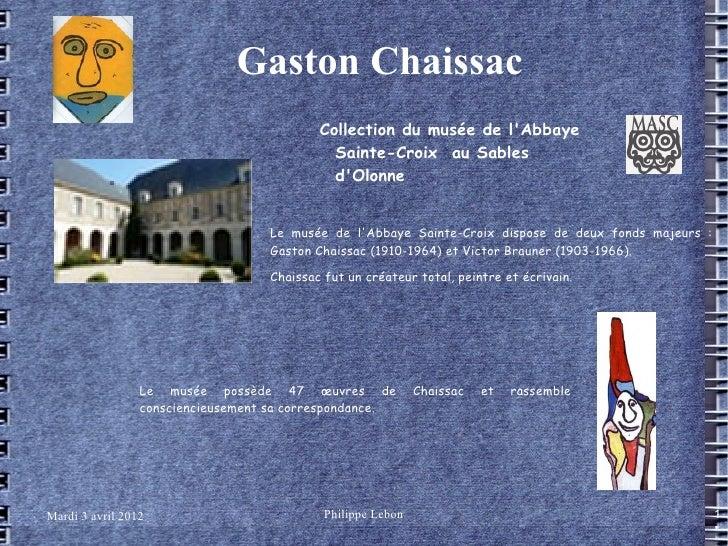 Gaston Chaissac