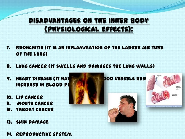 harmful effects of smoking cigarettes essay The effects of smoking are far reaching and numerous long-term smoking can damage the body beyond repair  what about effects of light and menthol cigarettes .