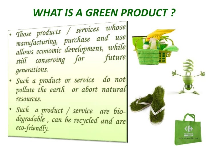 Who are the green consumers?
