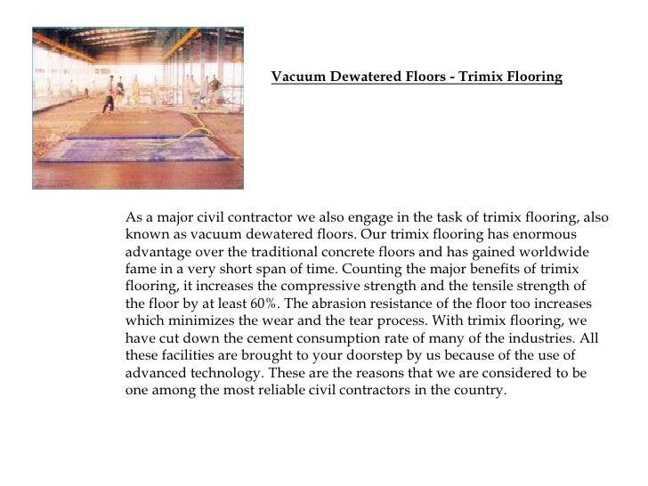 Tri Mix Concrete : Trimix flooring
