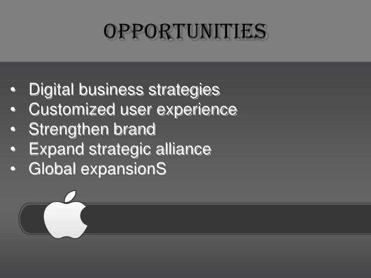 apple business plan ppt outline