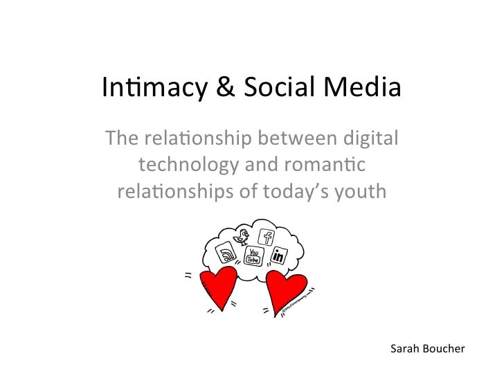 In#macy & Social Media  The rela#onship between digital    technology and roman#c  rela#onships ...