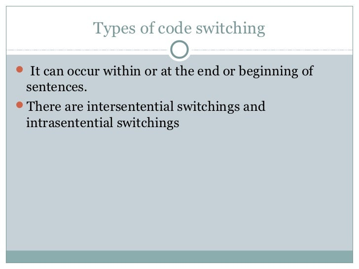 essay on code-switching Code switching in singlish essay, buy custom code switching in singlish essay paper cheap, code switching in singlish essay paper sample, code switching in singlish essay sample service online.