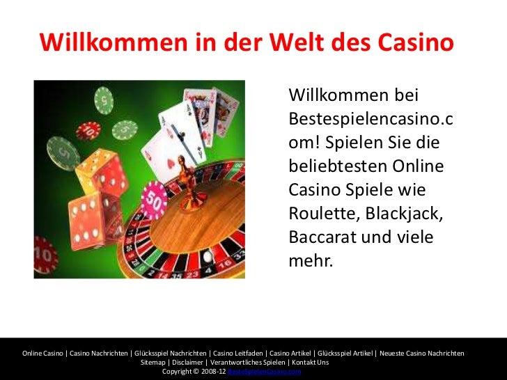 Willkommen in der Welt des Casino                                                                                        W...