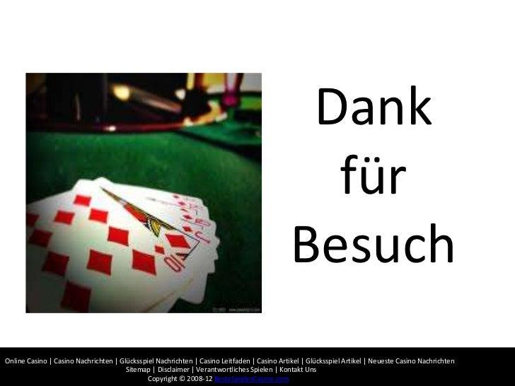 online casino nachrichten asos kontaktieren