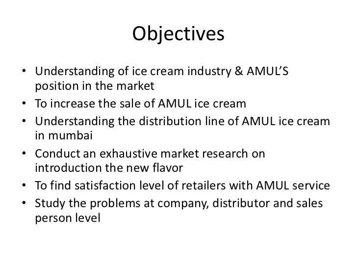 literature review of vadilal ice cream