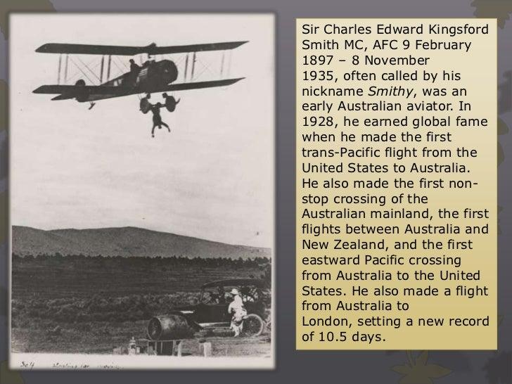 Charles Kingsford-smith photobiography Slide 3