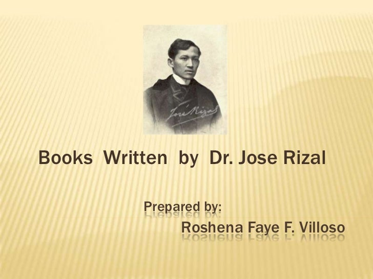 Book of rizal books written by dr jose rizal prepared by toneelgroepblik Images