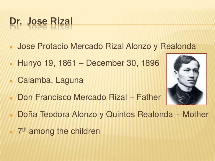 dr jose rizal 2 2 essay Rizal sa dapitan reaction paper rizal sa dapitan (a reaction paper) rizal sa dapitan is a great historical movie depicting the life of our national hero, dr jose protacio rizal.