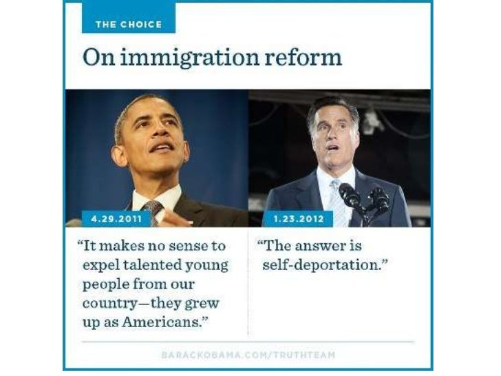 Obama & Romney on immigration