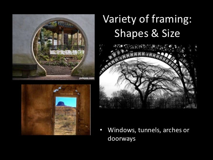 framing in photography