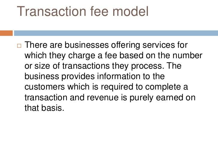 revenue model definition
