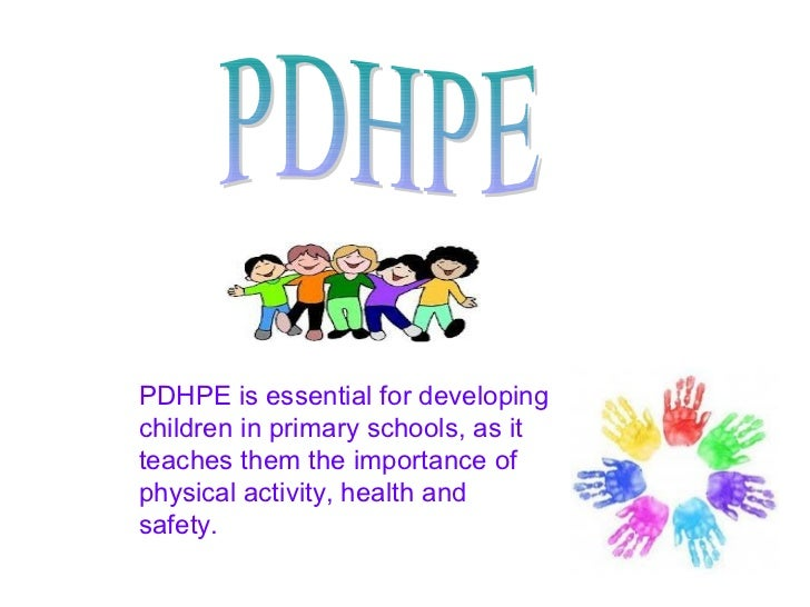 PDHPE is essential for developingchildren in primary schools, as itteaches them the importance ofphysical activity, health...