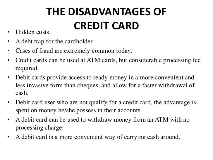 What are the disadvantages of Money?