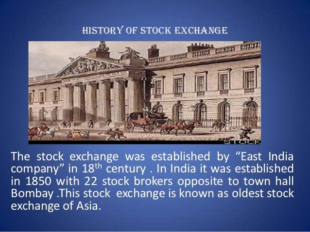 Inter-connected Stock Exchange of India - History