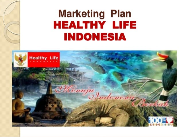 Marketing PlanHEALTHY LIFE  INDONESIA