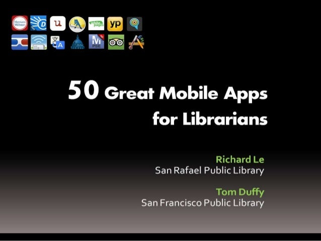50 Apps for Librarians