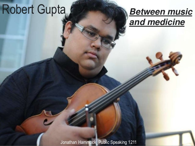 Robert Gupta                               Between music                                           and medicine          J...