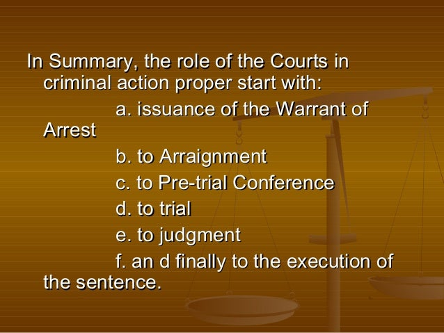 New Approaches to Criminal Trials