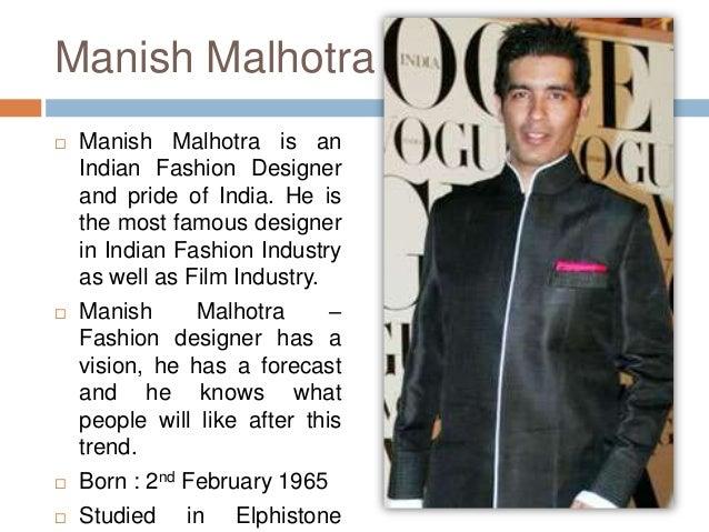 Biography of fashion designers 29