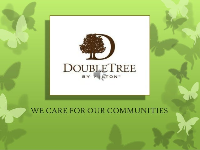 WE CARE FOR OUR COMMUNITIES
