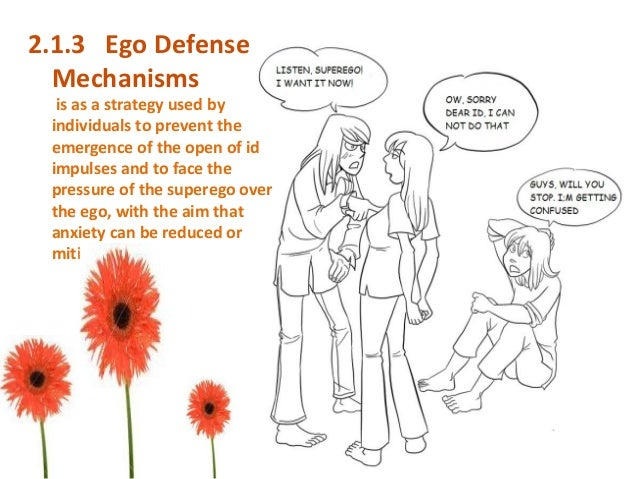ego mechanisms Anna freud defined in detail the defense mechanisms sketched out by her father in her book, the ego and the mechanisms of defense second.
