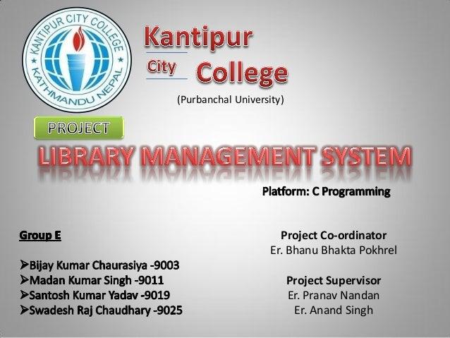(Purbanchal University)                      Project Co-ordinator                    Er. Bhanu Bhakta Pokhrel             ...