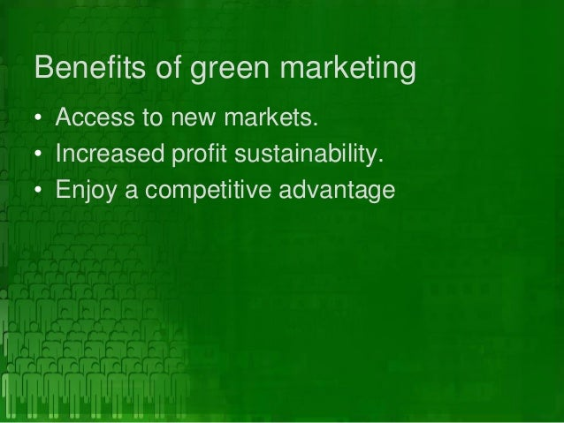 green marketing opportunities challenges Green marketing is environment friendly, sustainable and socially responsible according to the american marketing association, 'green marketing is the marketing of products that are presumed to be environmentally safe'.