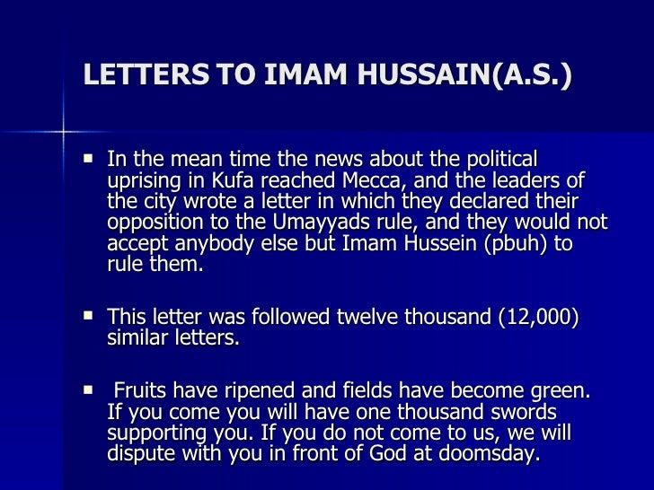 Non Muslim Perspective On The Revolution Of Imam Hussain: IMAM HUSSAIN ASHURA KARBALA