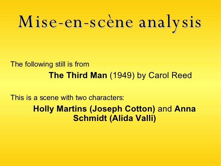 the third man character analysis